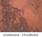 rust on sheet metal  grunge... | Shutterstock . vector #1411381661