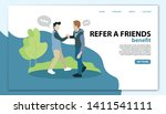 refer a friend landing page...