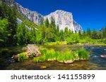 el captain rock with merced... | Shutterstock . vector #141155899