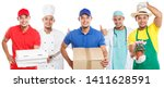 occupations occupation... | Shutterstock . vector #1411628591