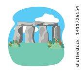 Stonehenge England Landmark...