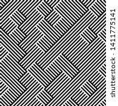 full seamless modern geometric... | Shutterstock .eps vector #1411775141