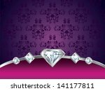 Purple Vintage Luxury Vector...