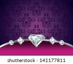 Purple Vintage Luxury Vector...