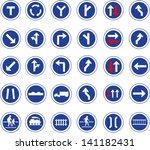 vector illustration of circle... | Shutterstock .eps vector #141182431