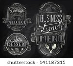 elements on the theme of the... | Shutterstock .eps vector #141187315