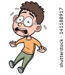 vector illustration of cartoon... | Shutterstock .eps vector #141188917