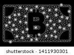 bright mesh bitcoin cash... | Shutterstock .eps vector #1411930301