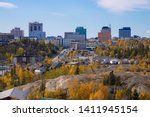 Beautiful City View in Yellowknife, Northwest Territories, Canada