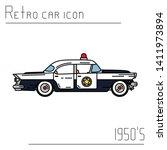 color vector icon american...   Shutterstock .eps vector #1411973894