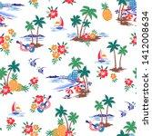 i made hawaiian shore scenery a ...   Shutterstock .eps vector #1412008634