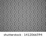 abstract geometric pattern with ... | Shutterstock .eps vector #1412066594