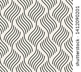 seamless pattern with geometric ... | Shutterstock .eps vector #1412090201