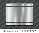 metal striped line background... | Shutterstock .eps vector #1412174777