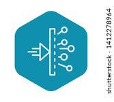 chemistry reaction icon....   Shutterstock .eps vector #1412278964