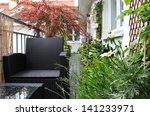 well designed modern terrace... | Shutterstock . vector #141233971