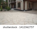 Paving Of The Site With White...