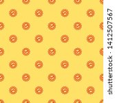 red and yellow seamless pattern ...   Shutterstock .eps vector #1412507567