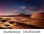 Star Night In The Desert