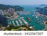 aberdeen  hong kong 11 may 2019 ... | Shutterstock . vector #1412567207