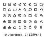 document simple icons set
