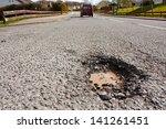 Large Deep Pothole An Example...