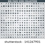collection of flat web and... | Shutterstock .eps vector #141267901