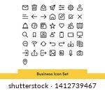 basic user interface icon set...