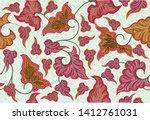 batik indonesian  is a...   Shutterstock .eps vector #1412761031