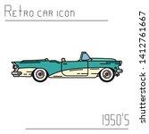 color vector icon american...   Shutterstock .eps vector #1412761667