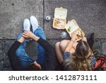 london  uk   18 may  2019   top ...   Shutterstock . vector #1412873111