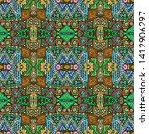 aztec pattern. seamless african ...   Shutterstock . vector #1412906297