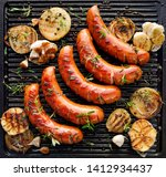Grilled Sausage With The...