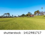 Vast Expanse Of Lush Lawn In...