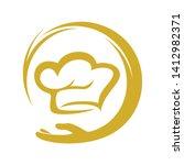 chef logo inspiration  chef...   Shutterstock .eps vector #1412982371