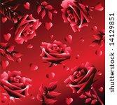 background in dark red tones... | Shutterstock .eps vector #14129851