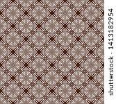 seamless vector pattern in... | Shutterstock .eps vector #1413182954