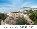 calpe coastal resort seen from... | Shutterstock . vector #141321655