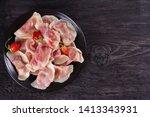 dumplings  filled with... | Shutterstock . vector #1413343931
