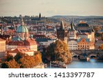 Prague City View With...