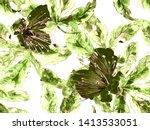 bold flower pattern. large...   Shutterstock . vector #1413533051