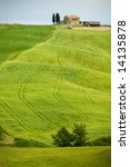 typical tuscan landscape | Shutterstock . vector #14135878