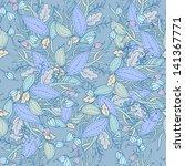 floral seamless pattern. | Shutterstock .eps vector #141367771