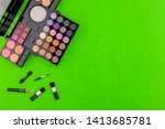 flat lay photo of various... | Shutterstock . vector #1413685781