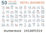 set of vector line icons of...   Shutterstock .eps vector #1413691514