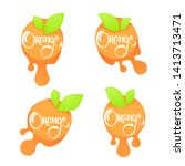 bright  sticker  emblem and...   Shutterstock .eps vector #1413713471