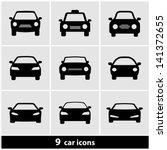 car icon set | Shutterstock .eps vector #141372655