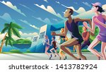 a theme  a key visual  an... | Shutterstock .eps vector #1413782924