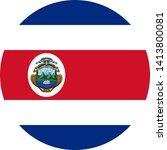 Flag Of Costa Rica Illustration ...