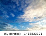 sky and cloud  good weather day ... | Shutterstock . vector #1413833321